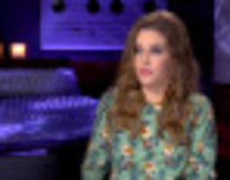 lisa marie presley describes her 'intense' parenting style (video)