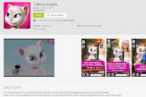 Talking Angela App: Game Warning E-mail is a Hoax